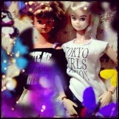 …と、あまり逃避も出来ないので、お勉強に戻りますよー(´・ω・`) #ナオミ #キサラ #naomi #kisara #Girlish #Culture #japan #dollphotography #doll #instadoll  #dolly #リカちゃん #licca #takara #liccachan #licca_chan #liccadoll #jenny #jennyfriend #cameran