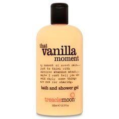 treaclemoon That Vanilla Moment bath & shower gel / 500ml / £2.99