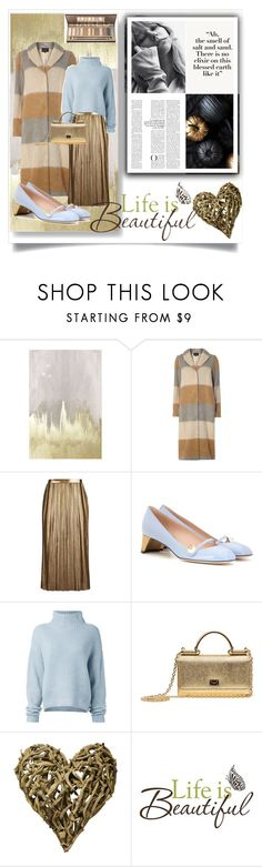 """""""Без названия #51"""" by sabilatifova ❤ liked on Polyvore featuring Oliver Gal Artist Co., Dorothy Perkins, Topshop, Gucci, Le Kasha, Dolce&Gabbana, Sugarboo Designs and Brewster Home Fashions"""