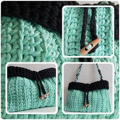 crochet bag - Kabelkománie♥♥