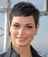 Short Short Hairstyles stylist feature loving this edgy pixiecut done by atlantastylist hairexclusive hairdos for short Morena Baccarin Short Hair