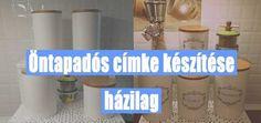 Öntapadós címke készítése házilag 2. rész - #28 DIY