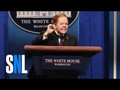 Sean Spicer Press Conference Cold Open - SNL - YouTube