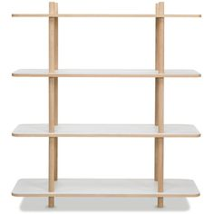 Skagerak Do Shelf System by Rikke Frost ($495) ❤ liked on Polyvore featuring home, furniture, storage & shelves, bookcases, 2 shelf bookcase, freestanding shelving unit, 2 tier bookcase, two shelf bookcase and 2 shelf book case