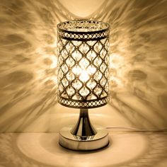 Overstock This Simple Elegance Table Lamp Will Add