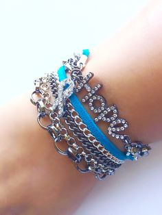 A personal favorite from my Etsy shop https://www.etsy.com/listing/486264373/25-off-ovarian-cancer-awareness-bracelet