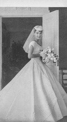 50s Wedding, Wedding Attire, Wedding Bride, Wedding Dresses, 1950 Wedding Dress, Wedding Shot, Wedding Tips, Vintage Wedding Photos, Vintage Bridal