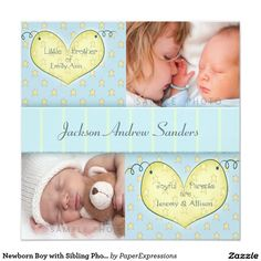 Business christmas cards business holiday cards at tiny prints newborn boy with sibling photo birth announcement colourmoves