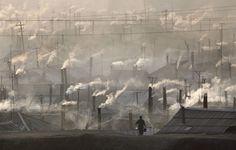 Hyesan, North Korea. Tim Burtonesque.