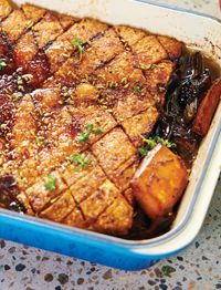 Manu Feildel's Pork Belly Roast from Chasseur - Stylish Cast Iron Cookware