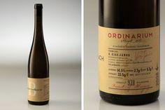 Breitenbach wine by Nora Horvath, via Behance