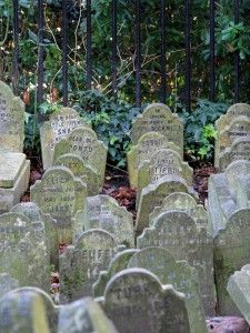 Pet Funeral industry undertaking major changes - This pet cemetery, closed off to the public, is located in Hyde Park in London, England
