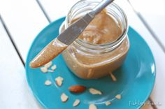 Homemade Nut Butter - Almond Butter Recipe #recklessabandon