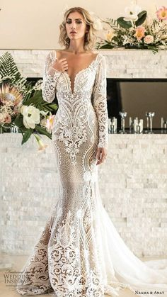 Mermaid Wedding Dress with Lace Sleeves . 25 Mermaid Wedding Dress with Lace Sleeves . Oleg Cassini Beaded Lace F the Shoulder Mermaid Wedding Dress Wedding Dress Sale F Amazing Wedding Dress, Lace Mermaid Wedding Dress, Gorgeous Wedding Dress, Mermaid Dresses, Dream Wedding Dresses, Bridal Dresses, Wedding Gowns, Maxi Dresses, Backless Wedding