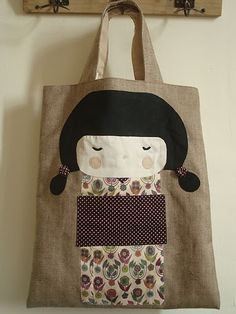 La Petite Madeleine. for our book transportations.great work on the move bag for all us plushy and soft doll makers
