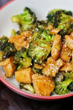 15-Minute Chicken and Broccoli! This is a fast and easy family friendly meal. #glutenfree