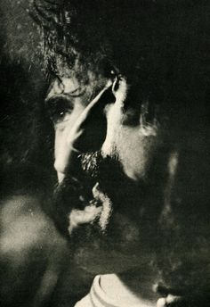 Frank Zappa Double Exposed. Photo by Walter Bredel for the East Village Other (1967)