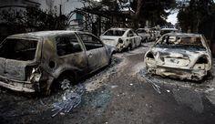 Πώς ξεκίνησε η φονική πυρκαγιά της 23ης Ιουλίου που ισοπέδωσε το Μάτι Car, Automobile, Vehicles, Cars