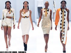 African Fashion Week London, SunShine, ss14, Agata Reis Angolan Designer, London, AFWL13, AFRICAN STYLE, DRESS, AFRO, FASHION, SHORTS, COLLECTION, GOLD.