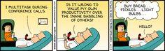 Dilbert - Multitasking