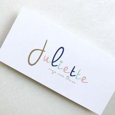 Geboortekaartje // Juliette // kleurrijk // meisje // lief