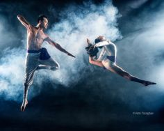 In Sync (Alan Ascencio and Jenay Espinosa of E M Cirque) by Allen Parseghian on 500px
