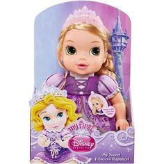 Deluxe Disney Baby, Rapunzel, Purple