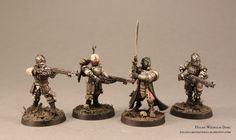 Wilhelm's Inquisitor & Mechanicum models