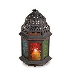 Rainbow Moroccan Lantern