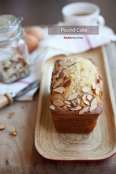 Classic pound cake recipe that yields buttery, velvety, moist, and deliciously dense pound cake. A pound cake recipe that is easy and fun to make. | rasamalaysia.com