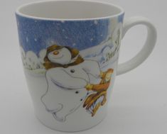 1c66d748683 Details about The Snowman Mug Raymond Briggs by Portmeirion 2009 Coffee Cup  Pottery