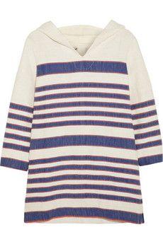 LemLem Malla Gabi hooded cotton-blend tunic   NET-A-PORTER