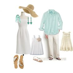 Whites, Creams, Pastel Blues....family pics in near future with my new hat