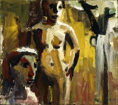 David Park (1911-1960) Women in a Landscape (1958) OIL ON CANVAS