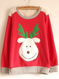 Christmas sweater, this is adorable!!