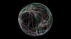 Cinema 4D - Light Trail Sphere Animation Tutorial