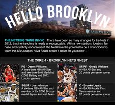 Hello Brooklyn: What's New With The Nets