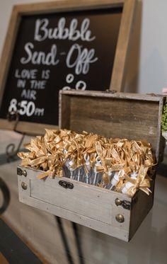 25 Fun Creative Wedding Exit Send Off Ideas rustic wedding sign with bubbles send off Wedding Send Off, Wedding Exits, Beach Wedding Favors, Brunch Wedding, Personalized Wedding Favors, Our Wedding, Wedding Ideas, Wedding Themes, Party Wedding