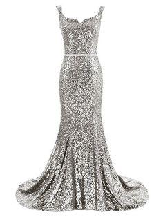 Amazon.com: Dressesonline Women's Mermaid Evening Dress Navy Sequins Prom Gown DM030: Clothing