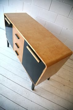 1930s Maple Veneer Sideboard by Asko Finland