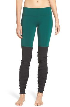 Free shipping and returns on Alo 'Goddess' Ribbed Leggings at Nordstrom.com…