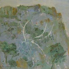 © Guy Warren ~ Wingman at Jamberoo ~ 1994 oil on board at Olsen Irwin Gallery Sydney Australia