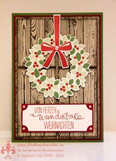 Stampin' Up! by First Hand Emotion: Willkommen, Weihnacht!