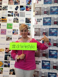 Take the pledge to #DriveInStyle and put an end to distracted driving!