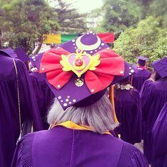sailor moon graduation cap - Google Search