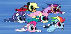 Power(Puff) Ponies by zelc-face (gif)
