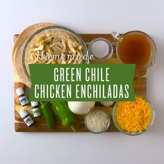 https://youngliving.com/en_US  Try our delicious green chile chicken enchilada recipe and see how easy it is to make dinner a fiesta! This simple…