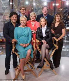 **Sitting: Caroline and Mary  Standing from left-right: Albert, Michael Landon Jr., Nellie, Almanzo & Carrie** 'We were together for so long': The wholesome, four-time Emmy-winning show - based Laura I... http://dailym.ai/R4sdW2#i-abf20e86