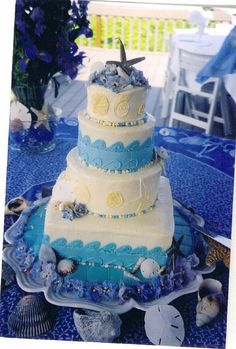 #Tropical Wedding Cake  Thanks again for viewing...feel free to Pin, Like, or Comment!