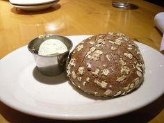 I go to Black Angus Restaurant for the Molasses Bread (the prime rib is good, too.)